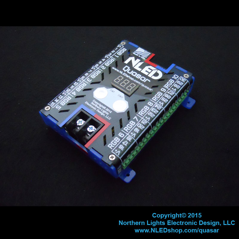 NLED Quasar - 30 Channel LED Controller, USB, DMX, Serial - Click Image to Close