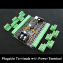 Plugable Terminals with Power Terminal