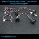NLED 30 Channel High Current LED Controller (DMX, USB, Serial)