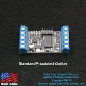 NLED Four Channel Mini - 12 Volt LED Strip Controller
